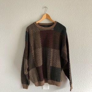 90s Vintage Cozy Comfy Oversized Grandpa Sweater
